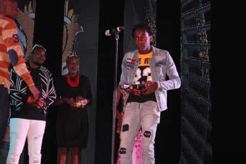 Muzo Aka Alphonso at the Kwacha Music Awards