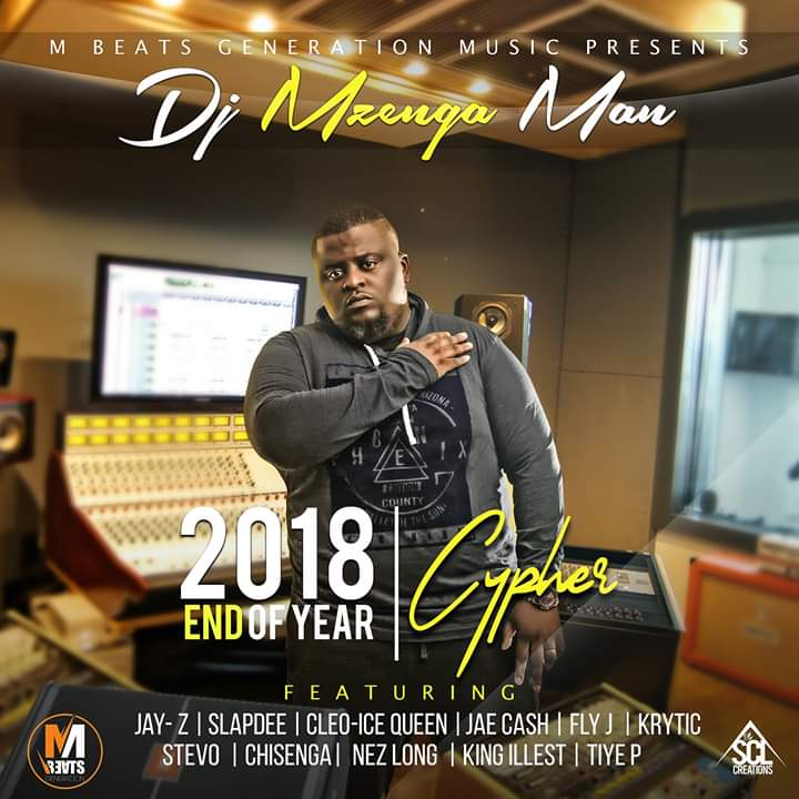 DJ Mzenga Man Ft. Various Artists 2018 End Of Year Cypher