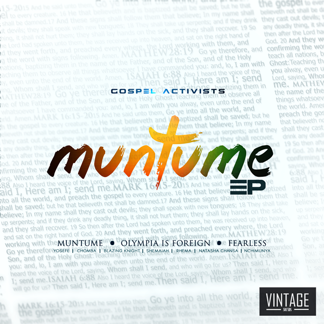 Gospel Activists Muntume EP