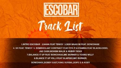 Photo of T-Sean – Escobar EP