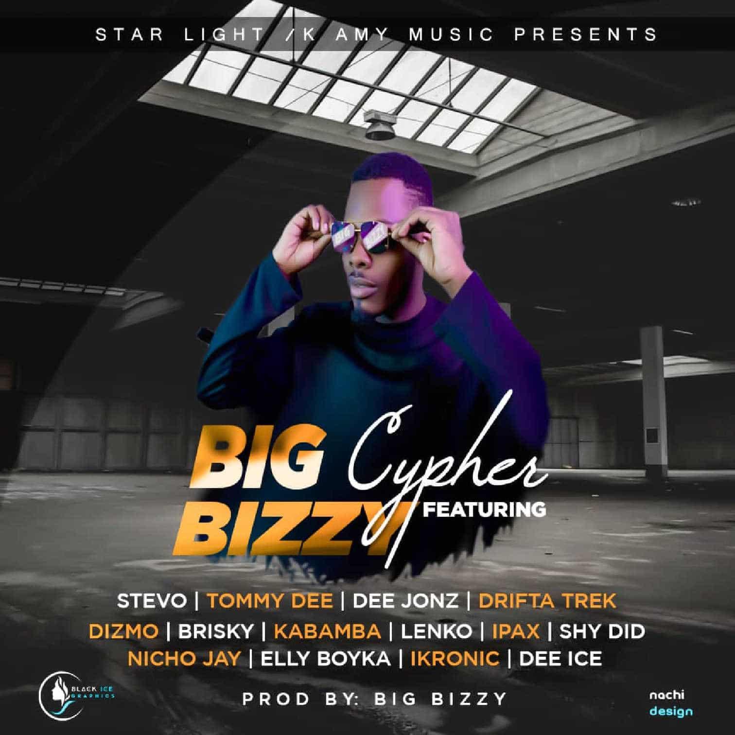 Big Bizzy Cypher Ft. Stevo Tommy Dee D Jonz Drifta Trek Dizmo Brisky Kabamba Lenko Ipax Shy Didy Nicho Jay Elly Boyka Dee Ice Ikronic