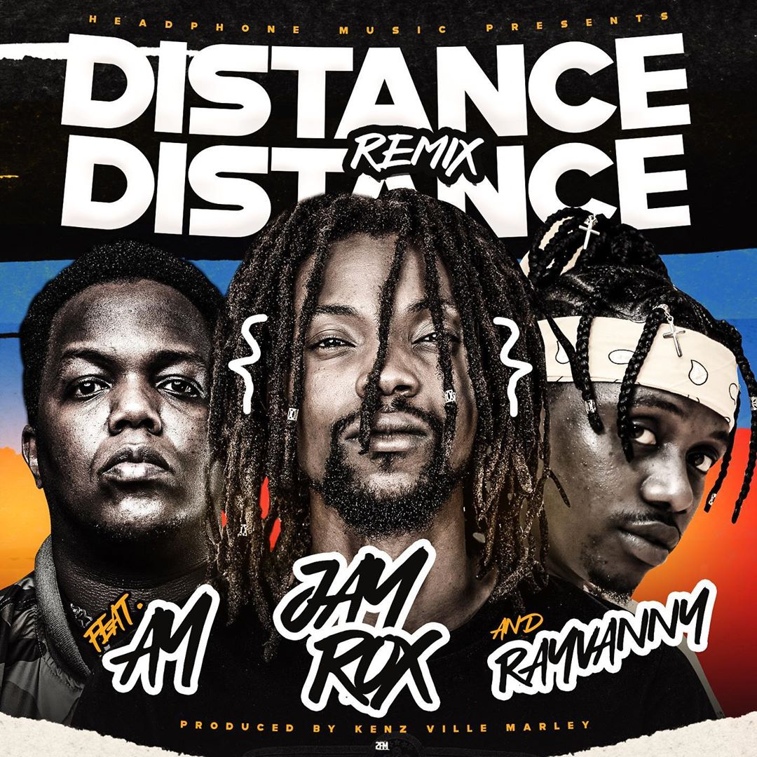 Jay Rox Ft. Rayvanny & AY – Distance Remix Mp3 Download