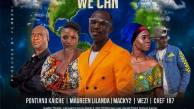 Photo of Pontiano Kaiche, Maureen Lilanda, Macky 2, Wezi & Chef 187 – Together We Can
