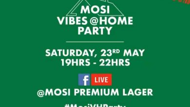 Photo of Mosi premium lager hosting a party on Facebook live