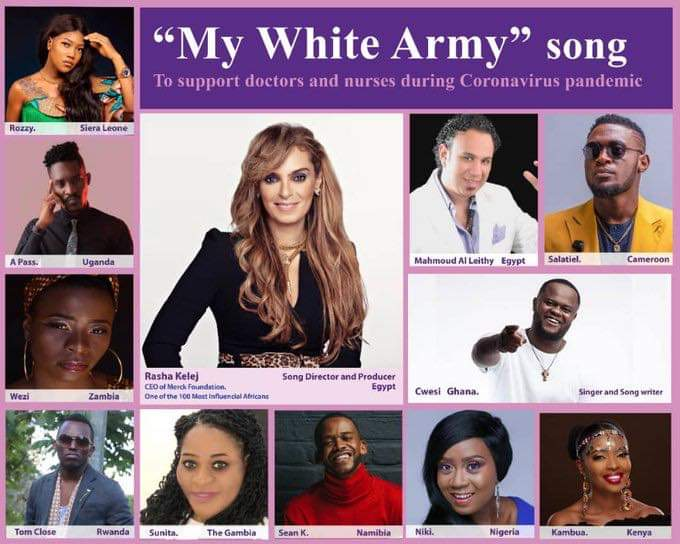 Wezi voice out for pan African song 'my white army''
