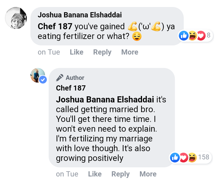 Chef 187 marriage growing positively