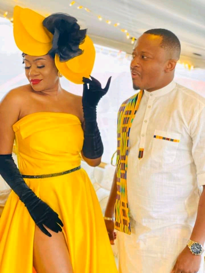 Mutale Mwanza and Abel Chungu