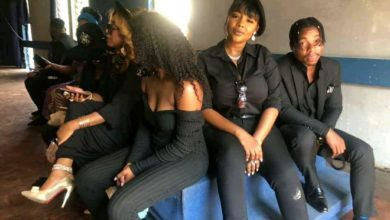 Photo of Zambian female artists condemned for dress code at Daev's funeral