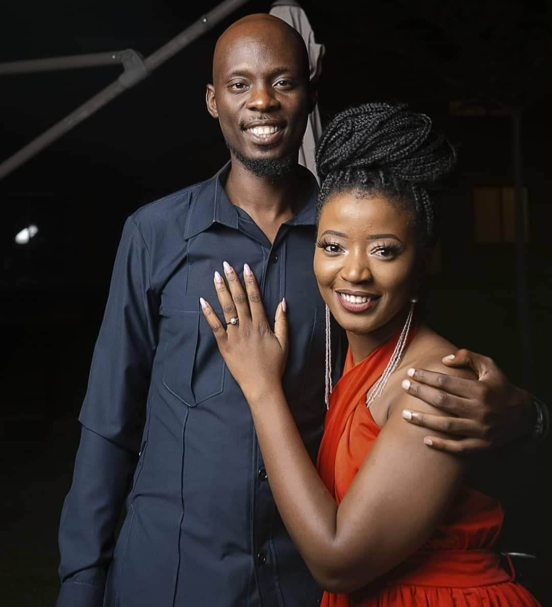 Photo of Pompi and Esther Chungu engaged