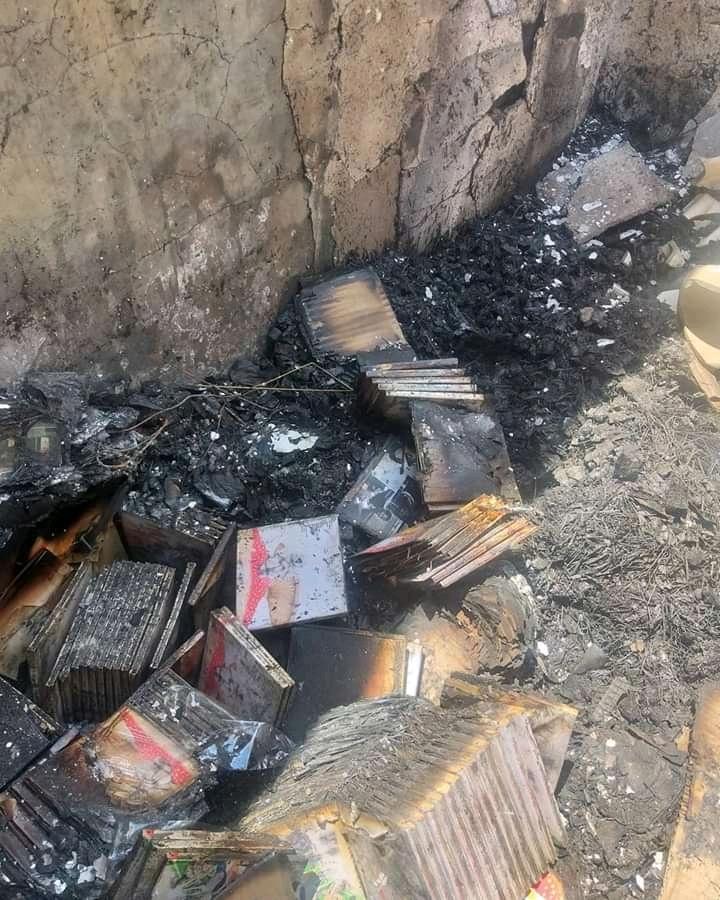 Mumba Yachi studio burnt to ashes