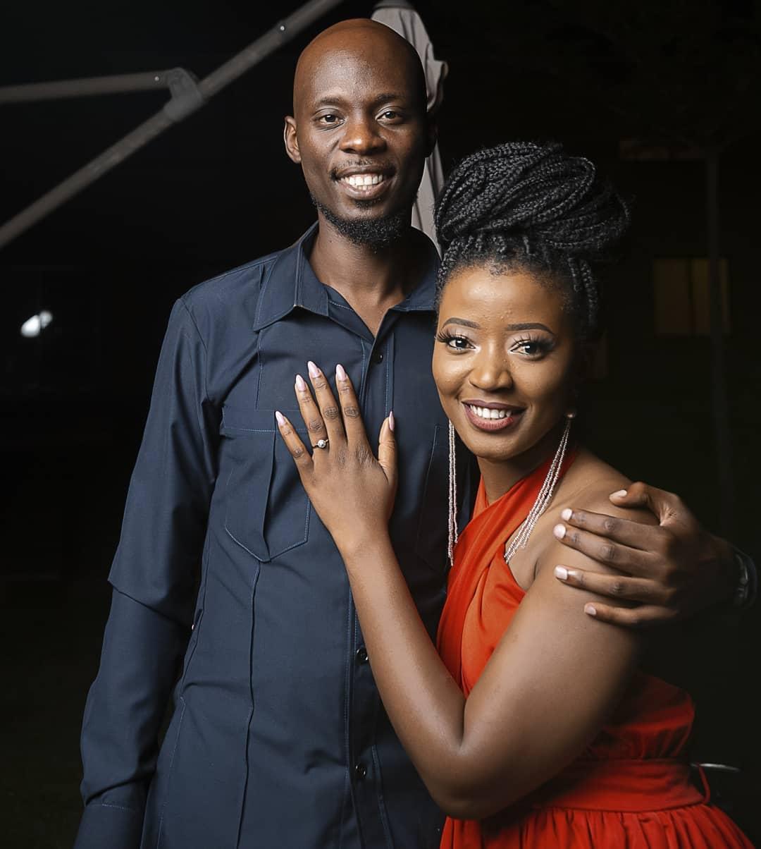 Pompi Esther Chungu Engaged